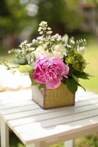 bouquet flower box