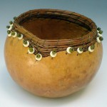 Gourd, pine needle class Aug. 2014
