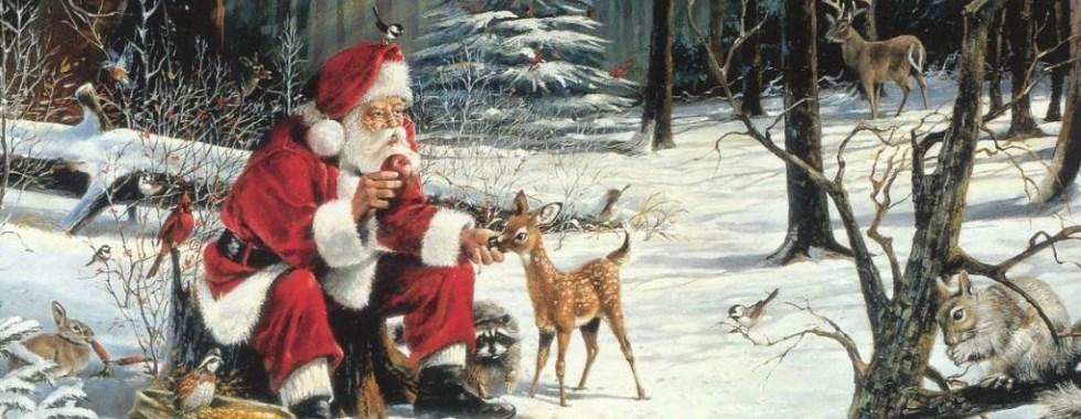 santa and deer_featured