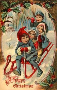 children-sleigh
